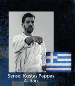 CSKK får besøg af Sensei Kostas er 4. Dan