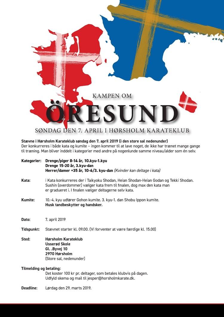 Kampen om Øresund April 2019