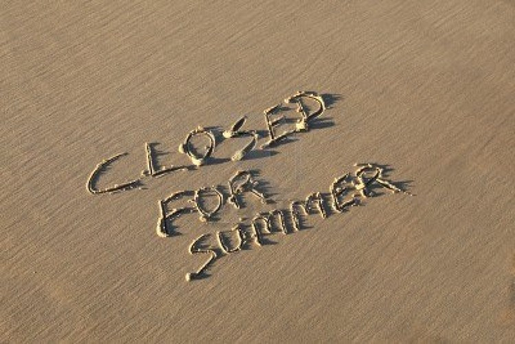 Sommerferie - lukket