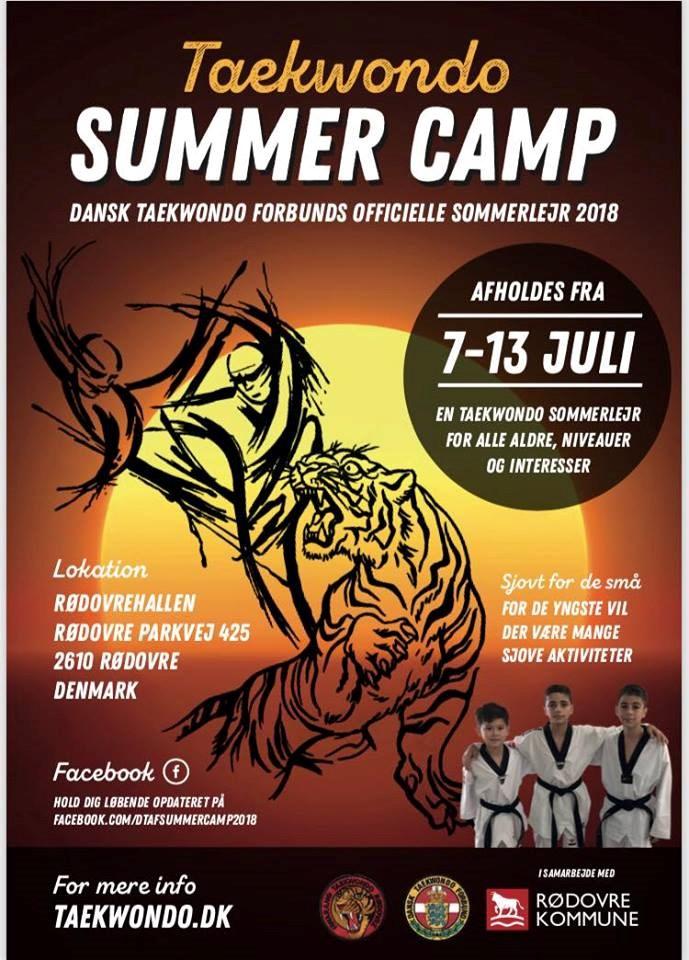 Taekwondo Sommerlejr 2018
