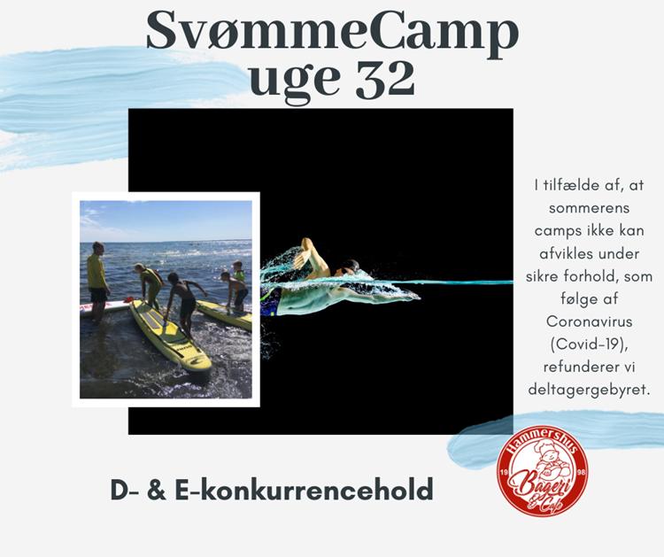 Sommer SvømmeCamp uge 32 for konkurrencesvømmere