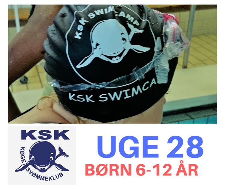 SvømmeCamp i uge 28 - børn 6-12 år