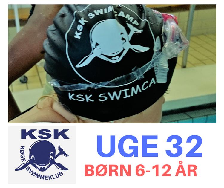 SvømmeCamp i uge 32 - børn 6-12 år