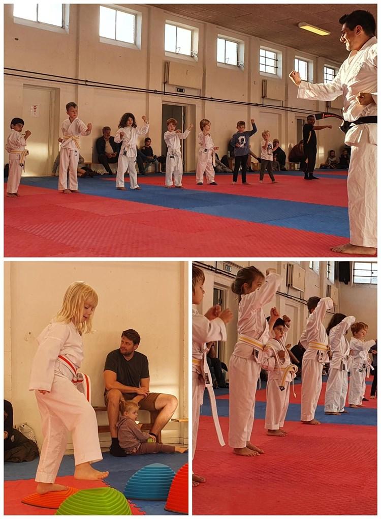Gratis prøvetime Mini Karate