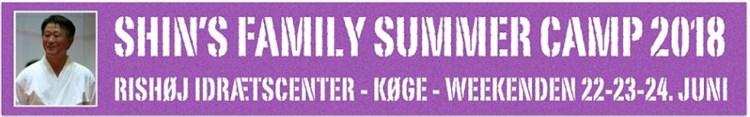 SHIN´S FAMILY SUMMER CAMP 2018