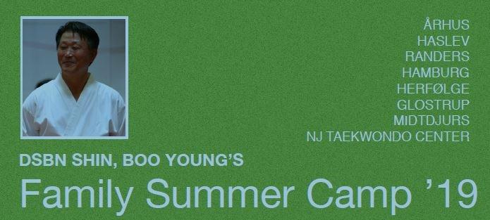 SHIN´S FAMILY SUMMER CAMP 2019