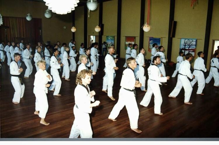 Sabumnim træning (Intern)