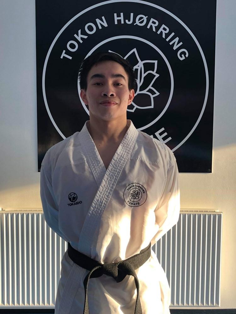Fællestræning med landsholdskæmper Huy Bao.